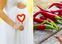 در بارداری و شیردهی غذای تند نخورید