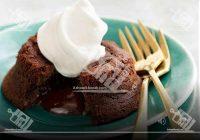 چاکلت لاوا کیک (کیک شکلاتی مذاب)