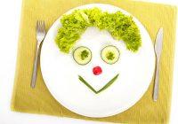 شادی در بشقاب غذا