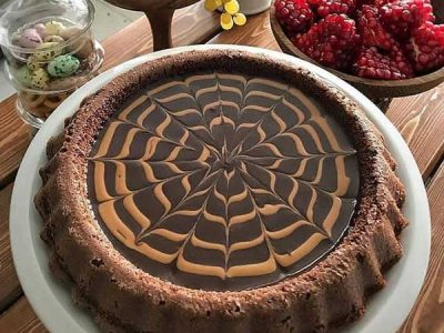 تارت کیک شکلاتی