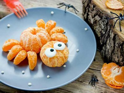 نارنگی به شکل عنکبوت