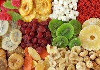 آموزش خشک کردن میوه ها