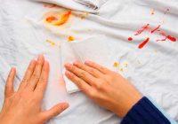 انواع روش های پاک کردن لکه لباس