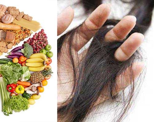 خوردنی مناسب موهای کم پشت