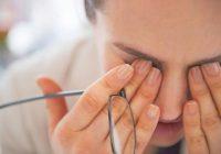 علل سوزش چشمها و درمان آن