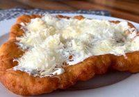 نان مجارستانی لانگوس