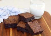 کیک براونی ساده
