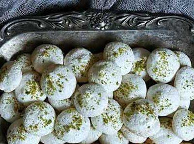 شیرینی پفکی نارگیلی