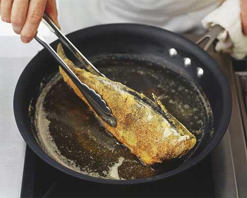 روش های صحیح سرخ کردن غذا